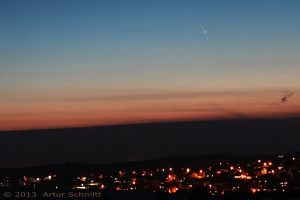 Komet C/2011 L4 (Pan-STARRS) am 15.03.2013 um 19:27 Uhr