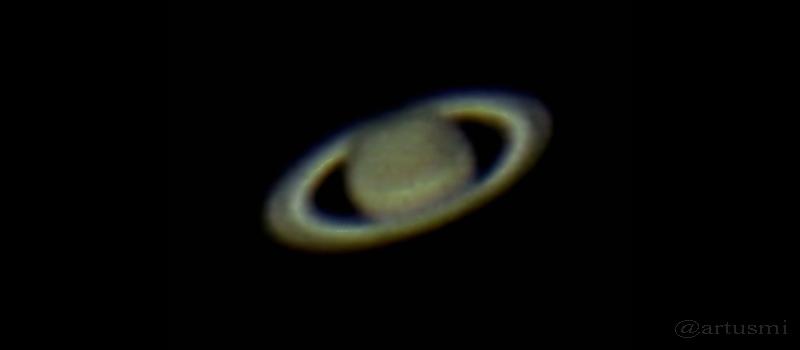 Saturn am 4. Juni 2015 im Sternbild Waage