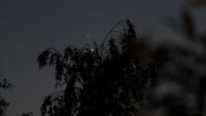 Jupiter und Venus am 30. Juni 2015 um 22:32 Uhr