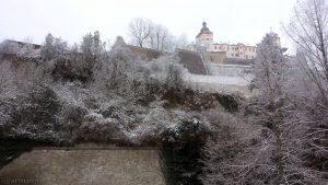 Marienberg mit Festung in Würzburg - 18. Januar 2016 um 10:56 Uhr