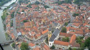 Große Kreisstadt Kitzingen am 11. Juni 2004 um 12:25 Uhr