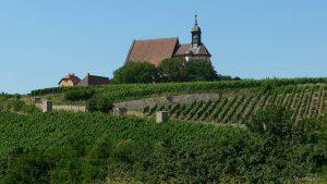 Wallfahrtskirche Maria im Weingarten bei Volkach im Landkreis Kitzingen - 19. Juli 2006