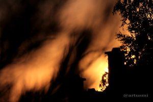 Sonnenuntergang am 1. August 2013 um 20:37 Uhr