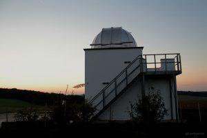 Hans-Haffner-Sternwarte bei Hettstadt im Lkr. Würzburg - 16. September 2014 um 19:42 Uhr