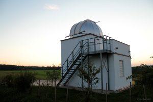 Hans-Haffner-Sternwarte bei Hettstadt im Lkr. Würzburg - 16. September 2014 um 19:43 Uhr