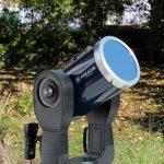 Sonnenbeobachtung bitte nur mit besonders geschützten Geräten!