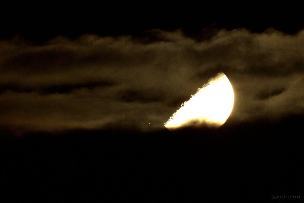 Aldebaran und Mond am 26. Februar 2015 um 01:19 Uhr