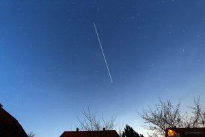 Am 9. April 2015 passierte die ISS um 21:13 Uhr den Großen Wagen und bedeckte dabei den Stern Merak.