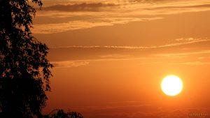 Sonnenuntergang am 17. Juli 2015 um 20:57 Uhr