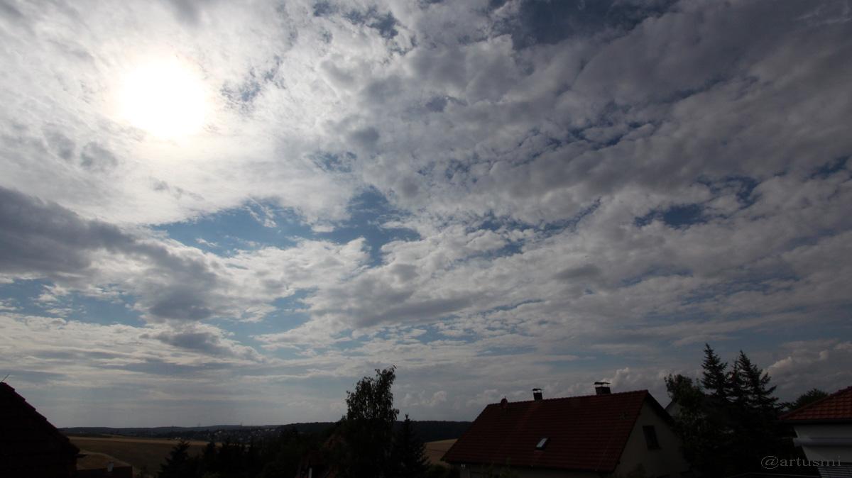 Wetterbild vom 19. Juli 2015 um 17:16 Uhr