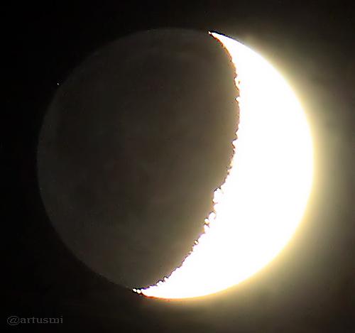 Mond bedeckt HIP 59412