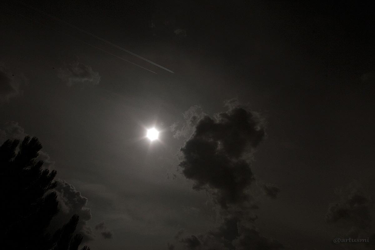 Wetterbild vom 8. August 2014