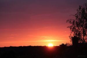 Sonnenuntergang am 20. August 2014 um 20:22 Uhr