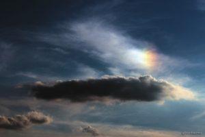 Linke Nebensonne am 27. August 2014 um 19:07 Uhr