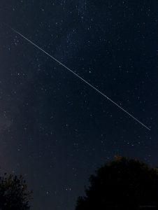 Die ISS am 11. August 2015 um 22:50 Uhr am Südhimmel