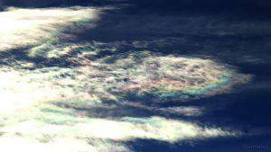 Irisierende Wolken am 27. August 2015 um 17:48 Uhr