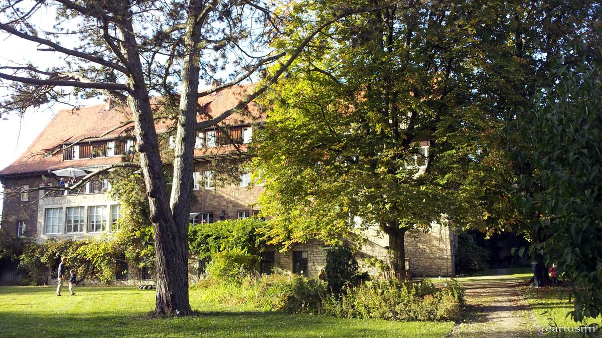 Parkanlage im Weiler Erbachshof