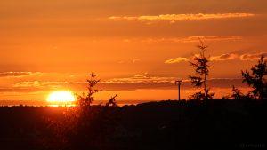 Sonnenuntergang am 27.09.2015 um 19:03 Uhr