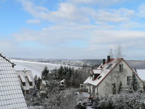 Winterliches Eisingen am 14. Februar 2009 um 09:50 Uhr
