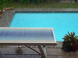 Starkregen mit Hagel am 1. Juli 2009 um 19:43 Uhr