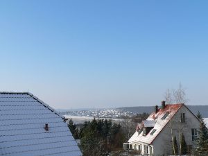Winterliches Eisingen am 4. Januar 2010 um 13:01 Uhr