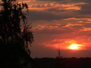Sonnenuntergang am 28. Juli 2011 um 20:55 Uhr
