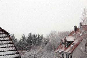 Schneefall am 19. Februar 2012 um 16:32 Uhr