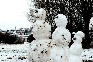 Schneemänner am 28. Januar 2013 um 14:35 Uhr