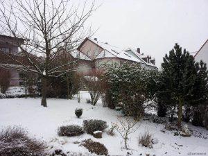 Unser Garten am 23. Februar 2013 um 10:13 Uhr