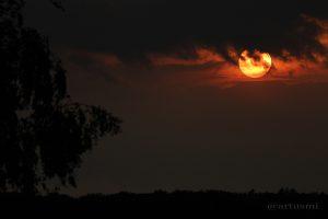 Sonnenuntergang am 31. Mai 2013 um 20:55 Uhr