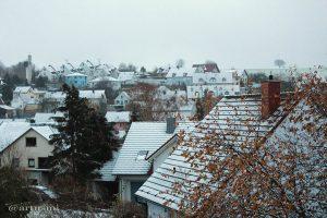 Erster Schnee am 20. November 2013 um 07:40 Uhr