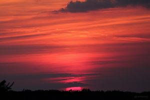 Sonnenuntergang am 22. Juli 2014 um 21:09 Uhr