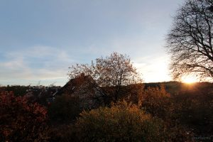 Sonnenuntergang am 16. November 2014 um 16:07 Uhr
