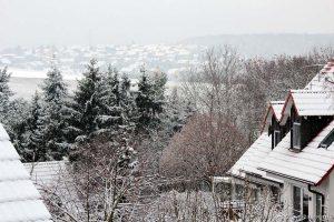 Erster Schnee des Winters am 3. Dezember 2014 um 09:08 Uhr