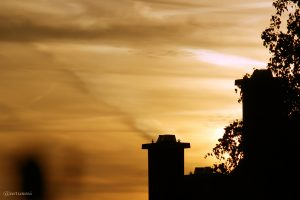 Vor dem Sonnenuntergang am 10. Mai 2015 um 20:29 Uhr