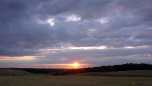 Sonnenuntergang am 23. Juli 2015 um 20:56 Uhr