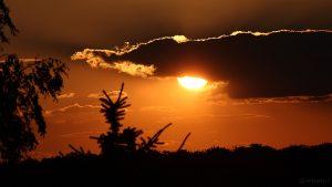 Sonnenuntergang am 29. Juli 2015 um 20:51 Uhr