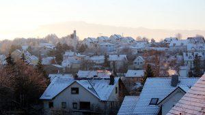 Der erste Schnee - gesehen am 22. November 2015 um 08:12 Uhr