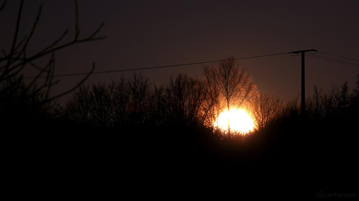 Sonnenuntergang am 24. Dezember 2015 um 15:55 Uhr