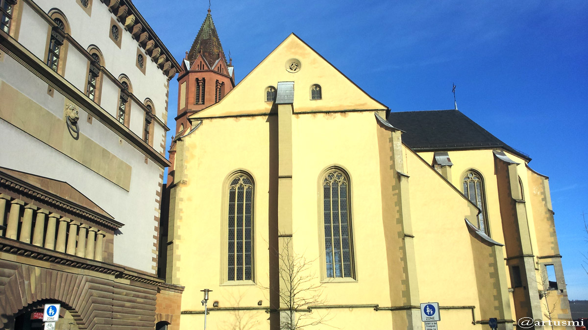 St. Burkard in Würzburg am 14. Januar 2016 um 10:30 Uhr