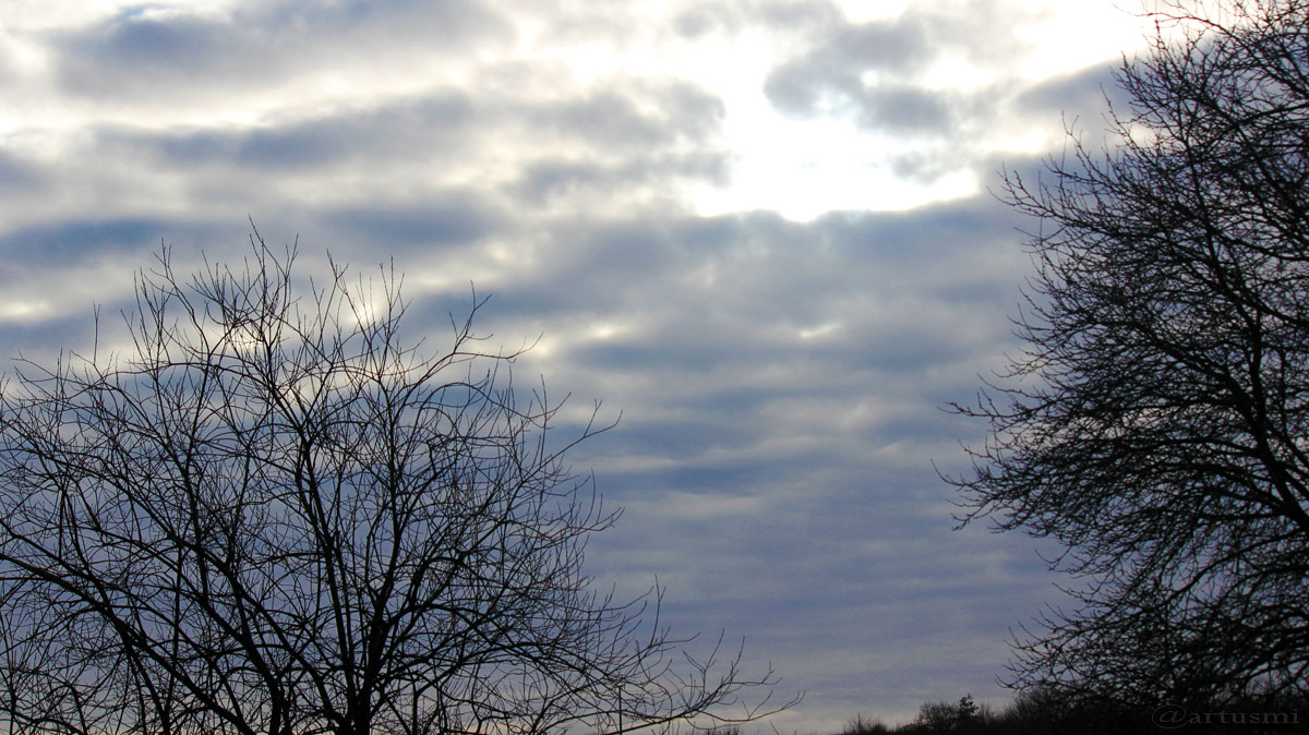 Wetterbild vom 14. Januar 2016