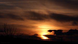 Sonnenuntergang am 24. Februar 2016 um 17:43 Uhr