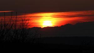Sonnenuntergang am 8. März 2016 um 18:05 Uhr