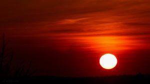 Sonnenuntergang am 14. März 2016 um 18:17 Uhr