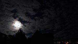 Vollmondnacht mit Jupiter am 23. März 2016 um 21:10 Uhr