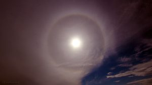 22°-Ring - Sonnenhalo am 30. April 2016 um 16:07 Uhr