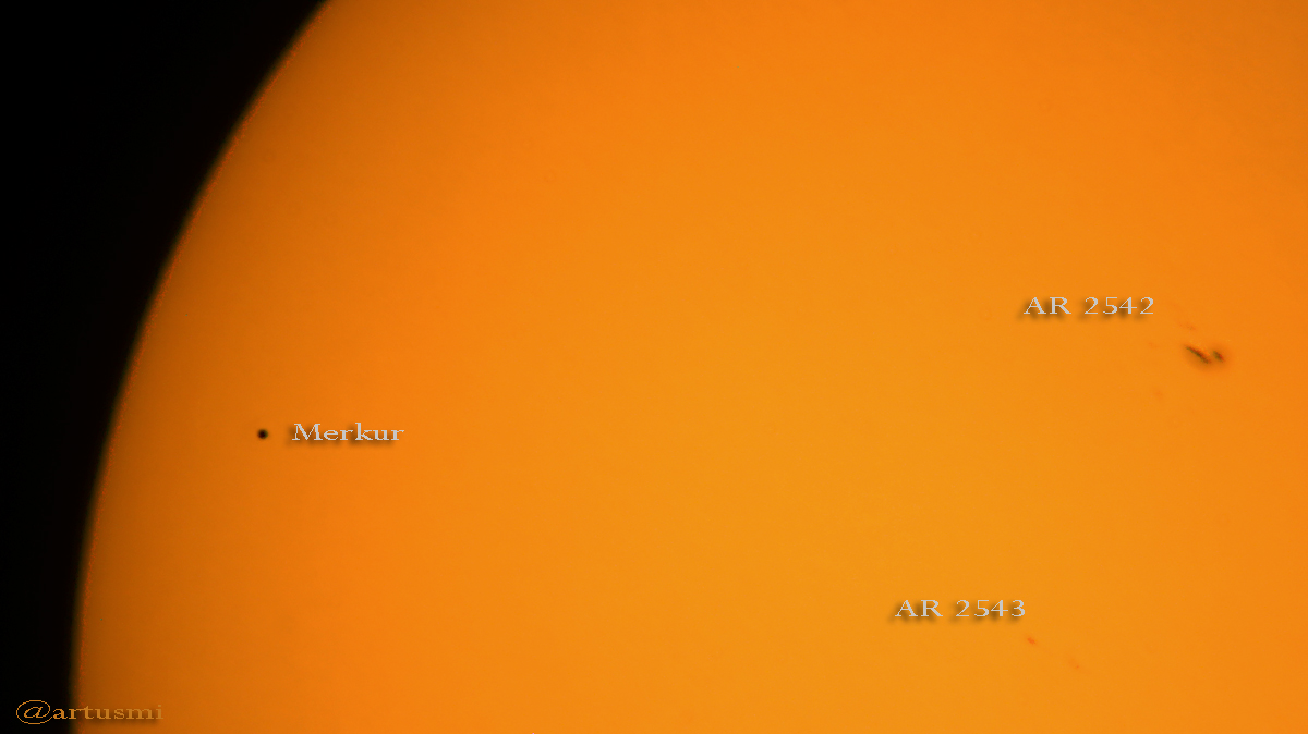 Merkurtransit am 9. Mai 2016