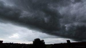 Unwetter im Anmarsch am 14.06.2016 um 19:50 Uhr