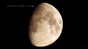 Zunehmender Mond am 15. Juli 2016 um 00:25 Uhr