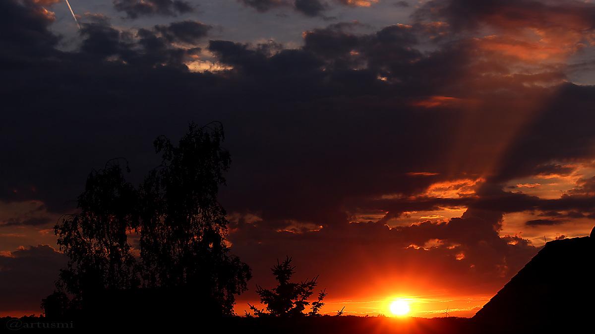 Sonnenuntergang am 17. Juli 2016 um 21:12 Uhr